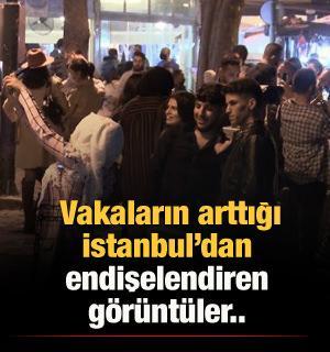 Ortaköy'de endişelendiren görüntüler!