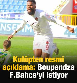 """Rahmi Vardı: """"Boupendza Fenerbahçe'yi istiyor"""""""