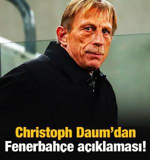 Christoph Daum: Paylaşım yapmaya devam edeceğim!