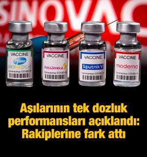 Kovid-19 aşılarının tek dozluk performansları açıklandı: Moderna hepsine fark attı