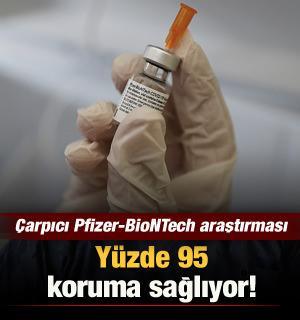 Çarpıcı Pfizer-BioNTech aşısı araştırması: Yüzde 95 koruma sağlıyor