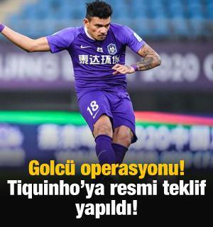 Trabzonspor'dan Tiquinho'ya resmi teklif!