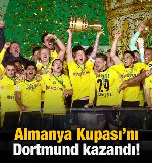 Almanya Kupası'nı Borussia Dortmund kazandı