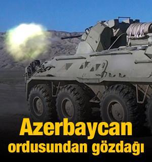 Azerbaycan ordusundan gözdağı