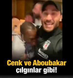 Cenk Tosun ve Aboubakar çılgınlar gibi!