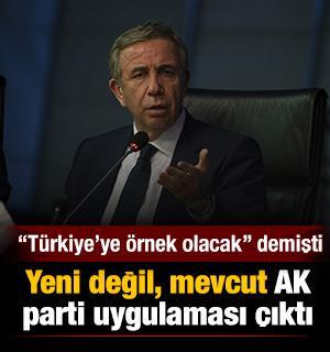 Mansur Yavaş'ın 'Türkiye'nin örnek alacağı projesi' zaten uygulanıyor