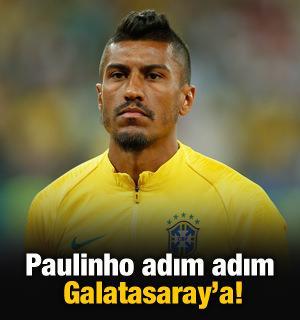 Paulinho adım adım Galatasaray'a!