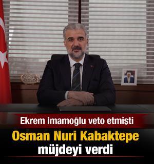 İmamoğlu'nun veto kararı sonrası İBB Meclisi'nde AK Parti ve MHP grubu harekete geçti