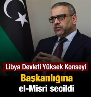 Libya Devlet Yüksek Konseyi Başkanlığına el-Mişri seçildi